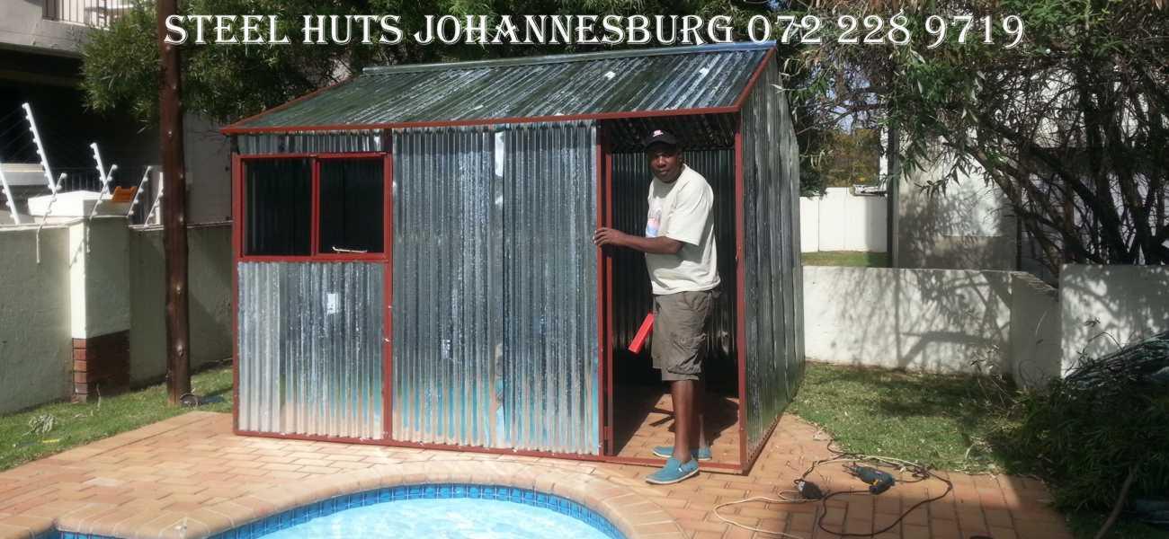 Garden Sheds Johannesburg welderite steel huts pretoria 0722289719-steel huts johannesburg