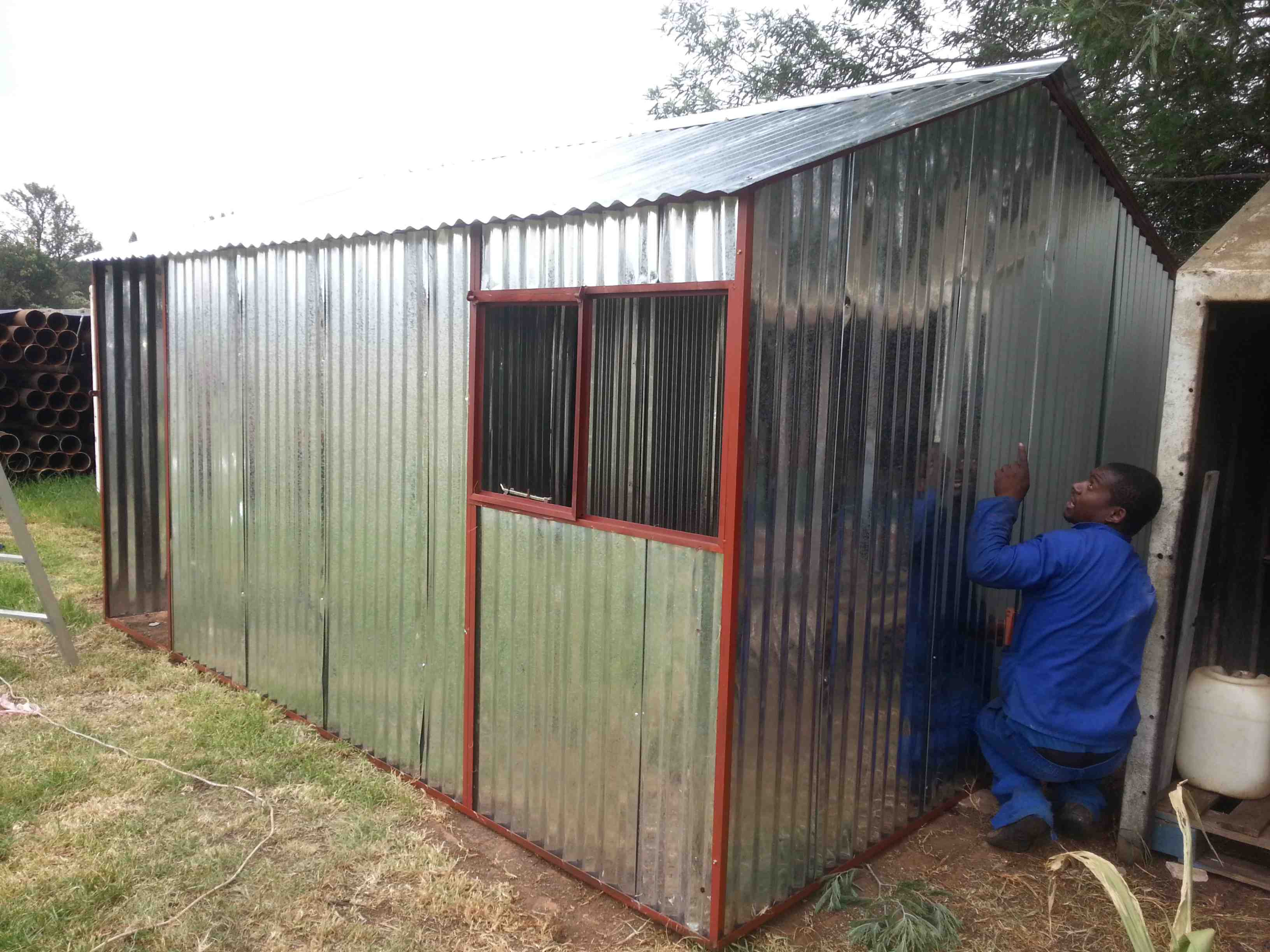 Garden Sheds Johannesburg steel huts randburg
